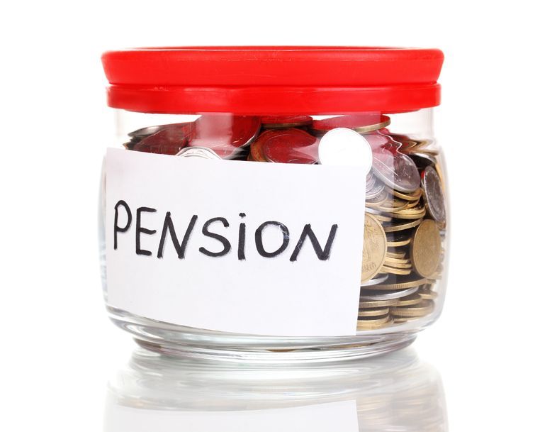 pensionsopsparing, pension